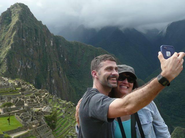 Machu Picchu selfie