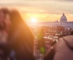 Rome, Italy, Pincio Hill