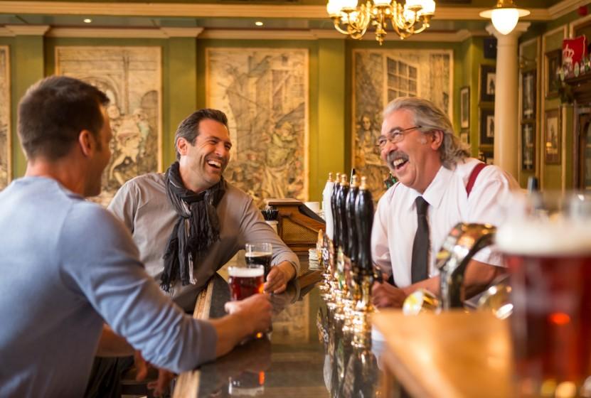 Beer in Bar. Photo Credit: Monograms