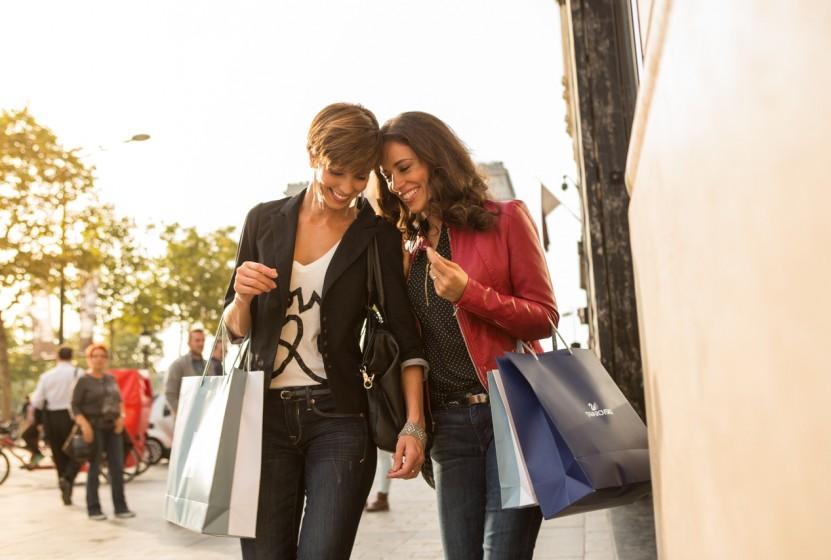 Monograms Shopping in Paris