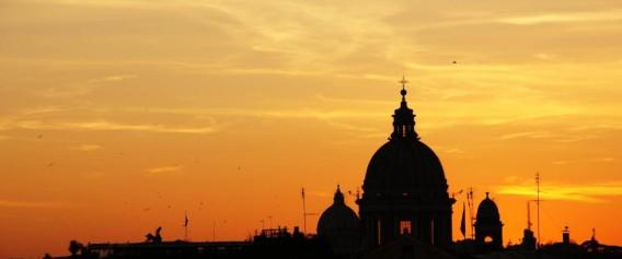 italy-rome-sunset